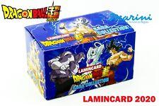 COLLEZIONE 2020 LAMINCARD DRAGON BALL SAGA COLLECTION BOX 24 BUSTINE DI CARD