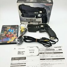 Guncon2 NPC-106 Gun Controller & Games Time Crisis 2 for Playstation 2 Japan