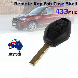3 BUTTON Remote Key Fob with blade Replacement For BMW 3 5 7 SERIES E38 E39 E46