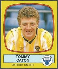 PANINI FOOTBALL 88-#199-OXFORD UNITED-TOMMY CATON