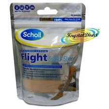 Scholl Flight Socks Sheer Size 4-6 X2 - 46 Graduated Compression Pairs 2