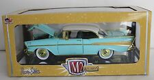 1:24 M2 Machines Auto-Thentics 1957 Chevy Bel Air 210 CHASE R49, 1 of only 300