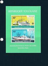 Togo bloc   port de Lomé    de 1968    num:  30   **