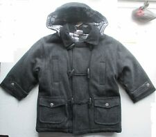 New  Duffle coat by Chicaloo for 4/5 year old grey  warm for winter  scarce rare