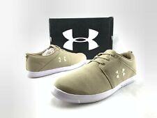 Under Armour UA M Street Encounter IV Men's Tan Brown Canvas Shoes US 8.5 D057