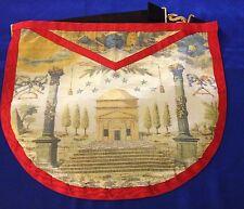 Franc-maçonnerie tablier Rite français dit Voltaire - Masonic apron
