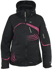 Trespass Women s Lissy Radium Ski Jacket TP-100 Black Pink size S b0764f3160