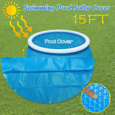 Round Pool Cover Protector Intex 8 10 12 15 ft Foot Above Ground Blue Protection