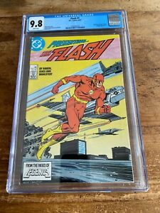 FLASH #1 DC Comics 1987 CGC 9.8 ~ White Pages NM Combine Shipping