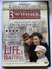 Life Is Beautiful (Dvd, 1999) 3 Academy Awards Winner