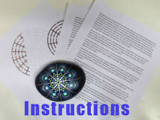 Mandala Dotting Tools for Painting Rocks – Plus Stencil & instructions