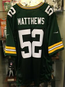 Clay Matthews Packers Mens 2XL Limited Nike Jersey NEW w/tags