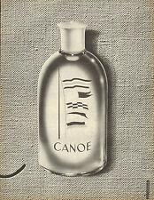 Publicité Advertising ///  CANOE parfum