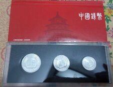 China 1984 year 1 Fen+2 Fen+5 Fen coins set 3PCS