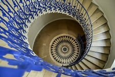 A3 Photo Print: Tulip Staircase at Queen's House in Greenwich, London