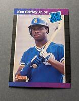 1989 Donruss #33 Ken Griffey Jr Rated Rookie Seattle Mariners HOF