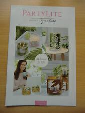 Partylite Katalog Frühling 2017 für Sammler !!! NEU