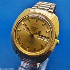 Mechanical (Automatic) Gold Plated Strap OMEGA Wristwatches