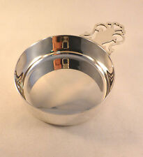 Large Tiffany & Co Sterling Porringer with Pierced Handle