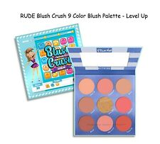 Rude Blush Crush 9 Color Blush Palette - Level Up #88029 Authentic & New