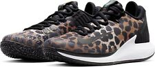 NikeCourt Air Zoom Zero Leopard Print Tennis Shoes AA8022-702 Women's US Size 8
