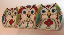 Home Accents® Bella Owl 3-Sectional Dish