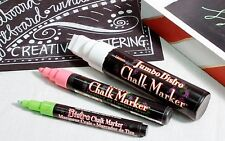 White Chalk Board Markers Pack of 3. 20mm White. For Chalk Board Graphics