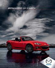 2014 Mazda Mx5 Miata 30-page Original Car Sales Brochure Catalog - Mx-5 Roadster