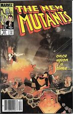 The New Mutants #22 Newsstand Mark Jeweler's Insert Variant