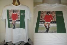 THE WEDDING PRESENT- GEORGE BEST- ALBUM ART  T SHIRT- WHITE - EXTRA LARGE