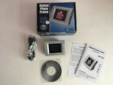 """Digital Photo Picture Frame 1.5"""" CSTN-LCD Screen 8MB Open Box"""