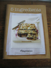 WEIGHT WATCHERS COOKBOOK - 5 INGREDIENTS AWAY FROM  DELICIOUS MEAL