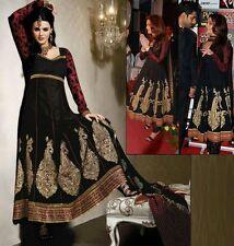 Designer Anarkali Indian Outfit Salwar Kameez Size 8