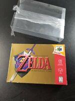 The Legend of Zelda Ocarina of Time (Nintendo 64 N64) CIB Complete - Authentic