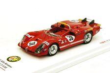 Alfa Romeo Tipo 33/3 1970 Le Mans #38 in 1:43 Scale    TSM124311