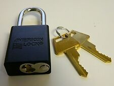 American Lock Keyed Different Lockout Padlock Box Of 6 A1106blk