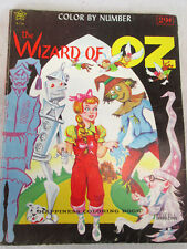 Vintage 1962 The Wizard of Oz  coloring book by Twinkle Books