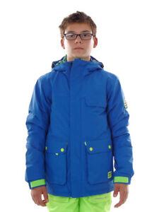 O`Neill Ski Jacket Snowboard Jacket Hawking Blau Hyperdry Bags Color