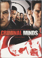 CRIMINAL MINDS - Stagione 02 DVD (6 Dischi) NUOVO E SIGILLATO