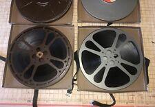 VINTAGE PSYCHO MOVIE REELS 1 & 2 16mm FILM ALFRED HITCHCOCK HORROR SUSPENSE