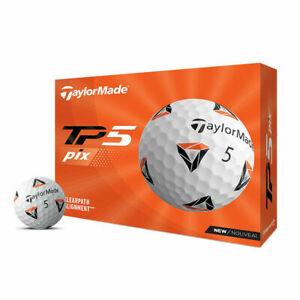 TaylorMade TP5 PIX Golf Balls 1 Dozen - New 2021
