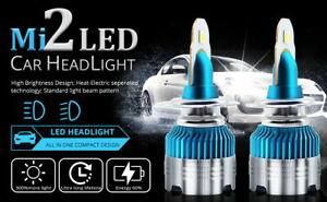 JAGUAR XF 2007-2011 2x H7 Headlight Kit LED BULLET Bulbs PURE WHITE 6500K