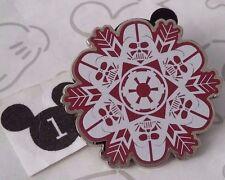 Darth Vader Star Wars Christmas Snowflake Winter Holiday Booster Disney Pin