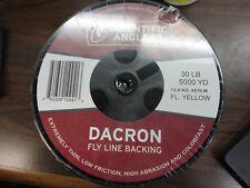 Scientific Anglers 30 LB Dacron Backing 5000 yards Yellow