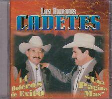 Los Nuevos Cadetes 14 Boleros De Exito Una Pagina Mas CD New Nuevo Sealed