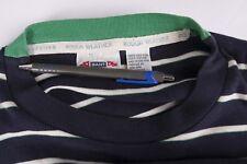 Gant T Shirt Vintage Blue White Stripe size L