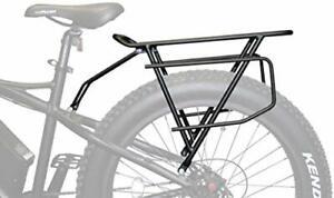 Rambo Bikes Extra Large Cargo/Luggage Rear Bike Rack Black R150