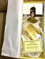 "Seymour Mann The Connoisseurs Collection Porcelain Bride Doll 18"" Tall"