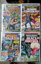 Marvel Premiere issues #31 32 + 43 53(Marvel,1970s)Black Panther Paladin WoodGod