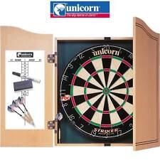 Unicorn - Striker Dartboard Home Dart Centre - Dart Board Cabinet - Free Postage